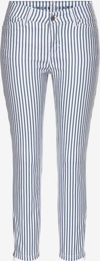 MAC Jeans 'Dream Chic' in blau / weiß, Produktansicht