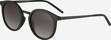 TAKE A SHOT Sonnenbrille 'Leonie: Schwarz - Smoke Gradient' in Black