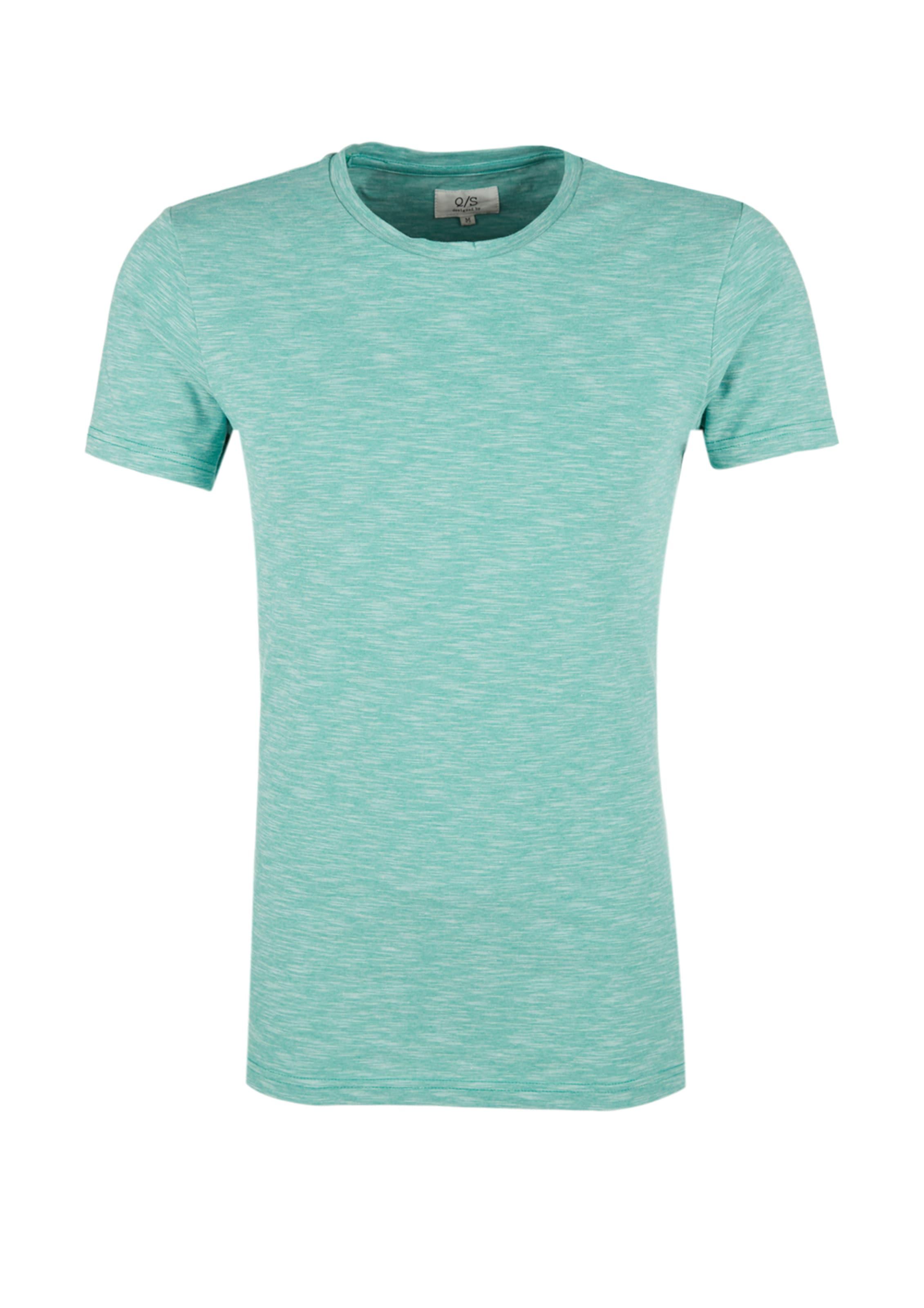Auslass Wirklich Rabatte Für Verkauf Q/S designed by T-Shirt in meliertem Design Verkauf Besten Großhandels Online-Shop Günstig Kaufen Günstigsten Preis Kb3286W
