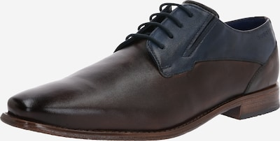 Pantofi cu șireturi 'Armo' bugatti pe albastru închis / maro închis, Vizualizare produs