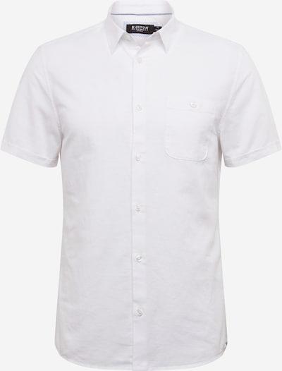 BURTON MENSWEAR LONDON Hemd 'WHITE LINEN' in weiß, Produktansicht