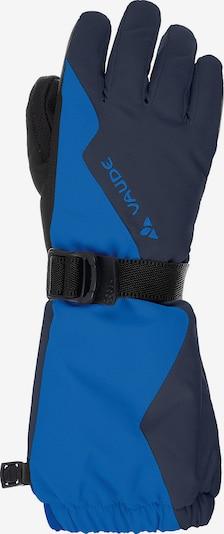 VAUDE Handschuhe in blau / schwarz, Produktansicht