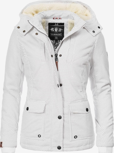 MARIKOO Winterjacke 'Keikoo' in weiß, Produktansicht