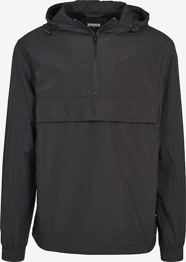 Urban Classics Übergangsjacke 'Basic Pullover' in schwarz, Produktansicht