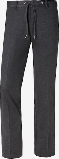 Charles Colby Pantalon chino 'Duke Bernard' en gris chiné, Vue avec produit