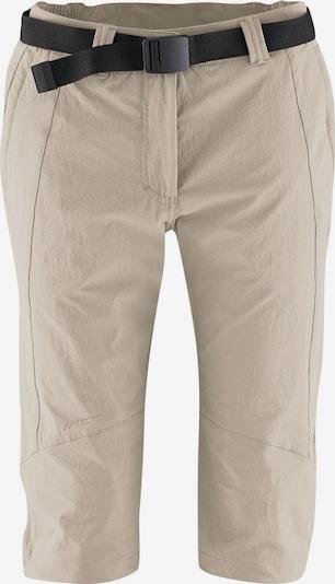 Maier Sports Short 'Da-Capri el. - Kluane' in beige, Produktansicht