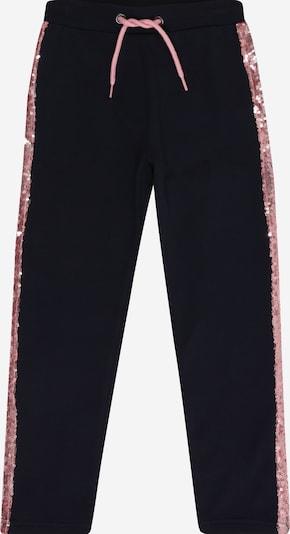 BLUE SEVEN Hose in nachtblau / rosa, Produktansicht