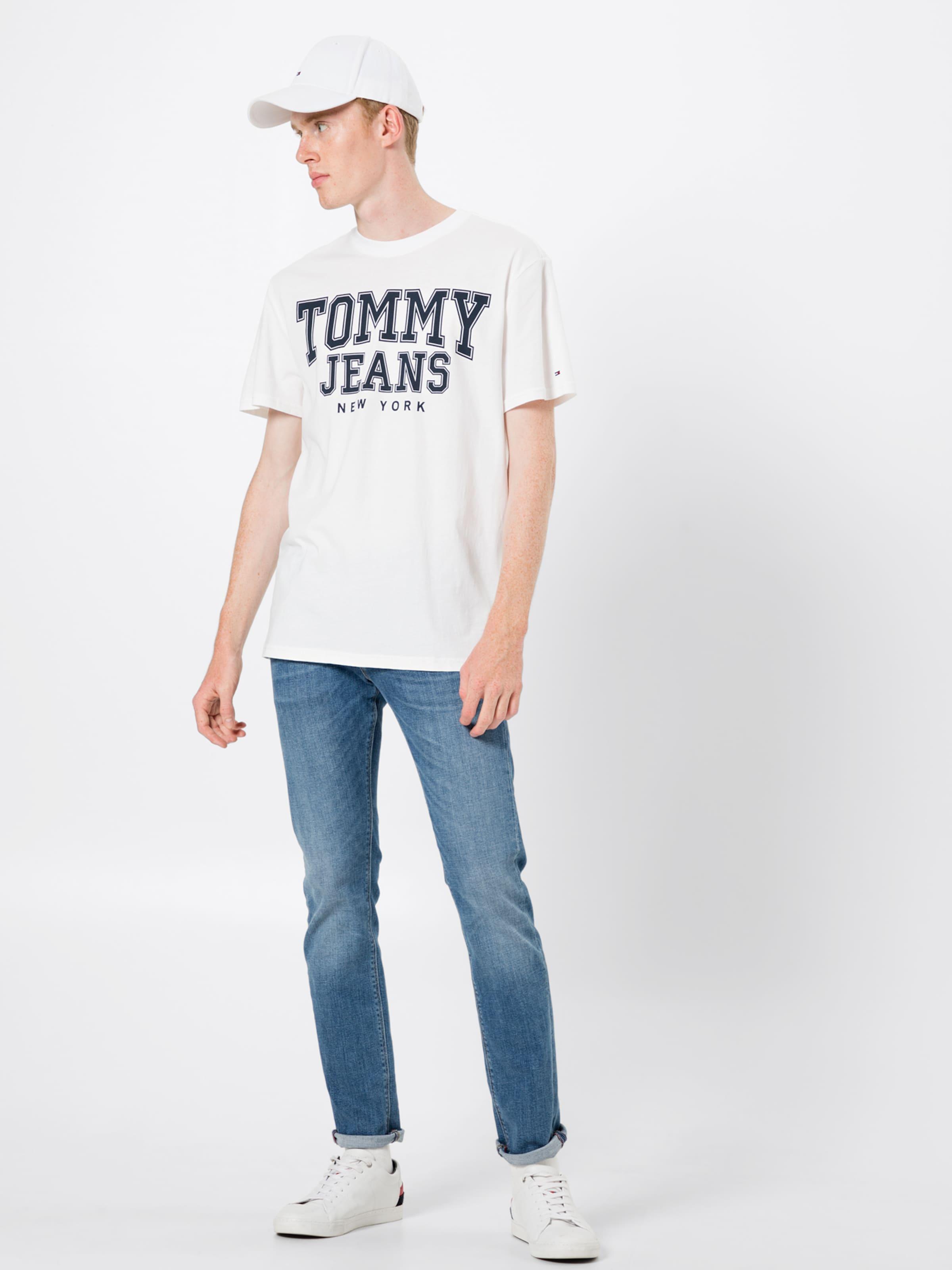 In T DunkelblauWeiß Jeans Tommy shirt 80PwOnk