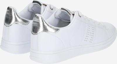 H.I.S Sneakers in silber / weiß: Rückansicht