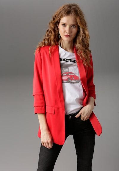 Aniston CASUAL Longblazer in rot, Produktansicht