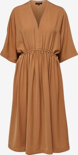 SELECTED FEMME Kleid in hellbraun, Produktansicht
