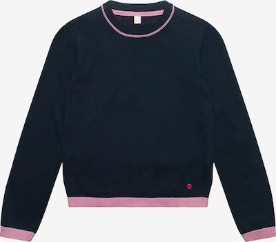 ESPRIT Sweatshirt in kobaltblau / pink: Frontalansicht