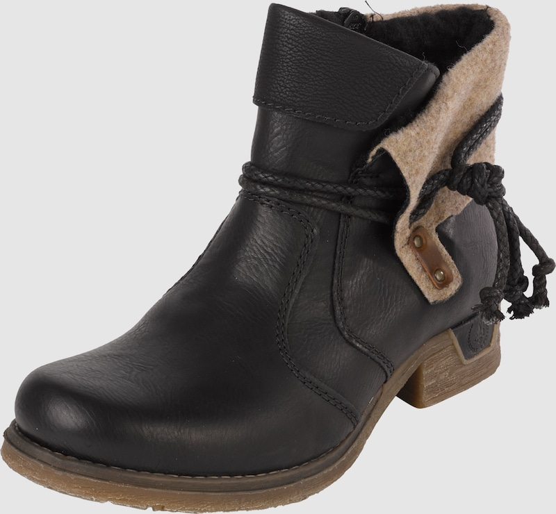 Rieker Ankle Boot With Folding Shank