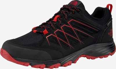 THE NORTH FACE Outdoorschuh 'Venture Fasthike Gore-Tex M' in hellrot / schwarz: Frontalansicht