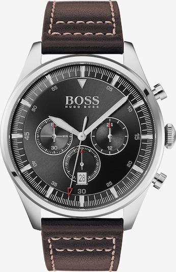 BOSS Casual Chronograph 'Pioneer' in kastanienbraun / schwarz / silber, Produktansicht