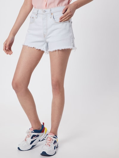 LEVI'S Jeansshorts '501®' in hellblau: Frontalansicht