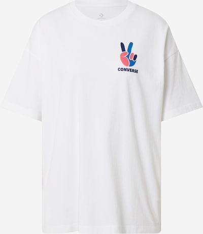 Laisvi marškinėliai 'PEACE' iš CONVERSE , spalva - mišrios spalvos / balta, Prekių apžvalga