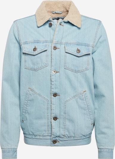 Urban Classics Ceļotāju jaka 'Sherpa Lined' zils džinss, Preces skats