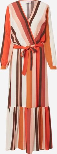 Freequent Kleid 'FQMELANY-DR' in mischfarben / orangerot, Produktansicht