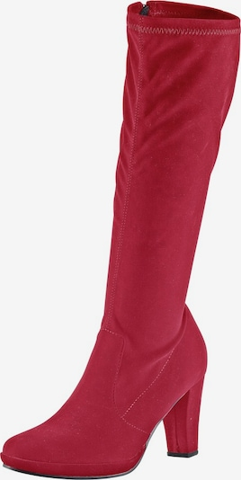 ANDREA CONTI Stretch-Stiefel in rot, Produktansicht