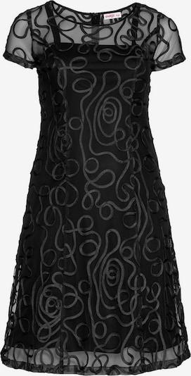 SHEEGO Koktejl obleka | črna barva, Prikaz izdelka