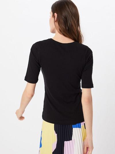 OPUS T-shirt 'daily B' en noir: Vue de dos