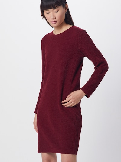 s.Oliver Kleid in burgunder, Modelansicht