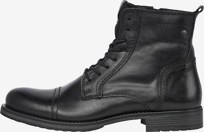 JACK & JONES Schnürstiefel 'JFWRUSSEL' in schwarz, Produktansicht