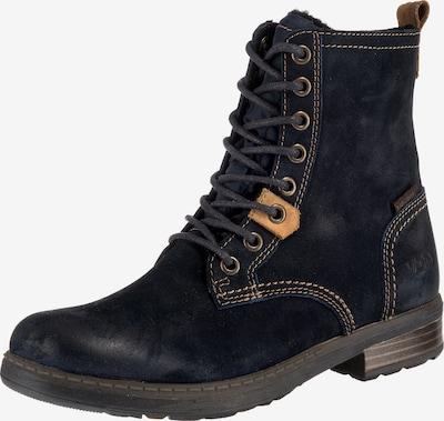 Vado Stiefel 'Eylo' in nachtblau / braun, Produktansicht