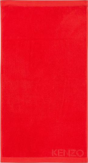 Kenzo Maison Gästetuch Set 'ICONIC 2er Set' in rot, Produktansicht