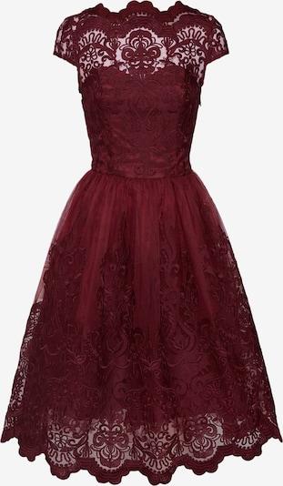 Chi Chi London Kleid 'Jimima Dress' in bordeaux: Frontalansicht