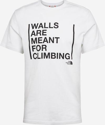 THE NORTH FACE Funkční tričko 'Walls Are For Climbing' - černá / bílá, Produkt