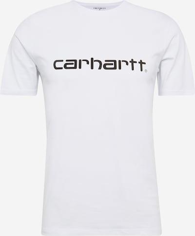 Carhartt WIP T-Shirt mit Logo in schwarz / weiß, Produktansicht