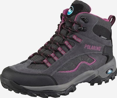 POLARINO 'Visionary High Cut' Outdoorschuh in anthrazit, Produktansicht