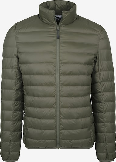 Urban Classics Basic Down Jacket in oliv: Frontalansicht