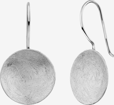 Nenalina Ohrringe 'Geo', Kreis in silber, Produktansicht
