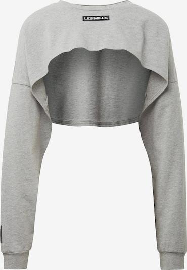 REEBOK Sporttop 'Les Mills' in graumeliert / schwarz, Produktansicht
