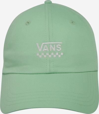 VANS Cap  'COURT SIDE HAT' in hellgrün / weiß, Produktansicht
