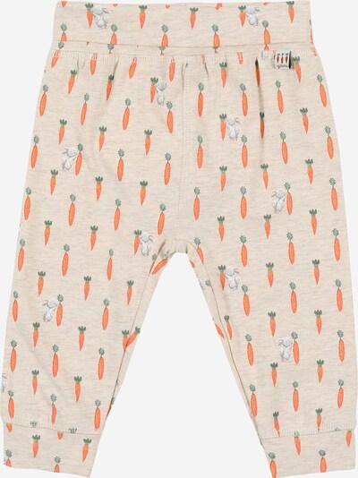 Pantaloni 'Luca' Hust & Claire pe bej / verde / portocaliu / alb, Vizualizare produs