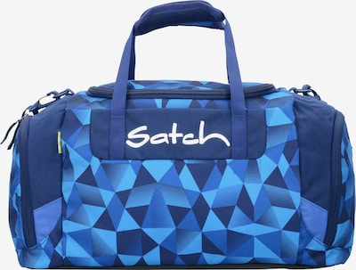 Satch Reistas in de kleur Navy / Royal blue/koningsblauw / Neonblauw, Productweergave