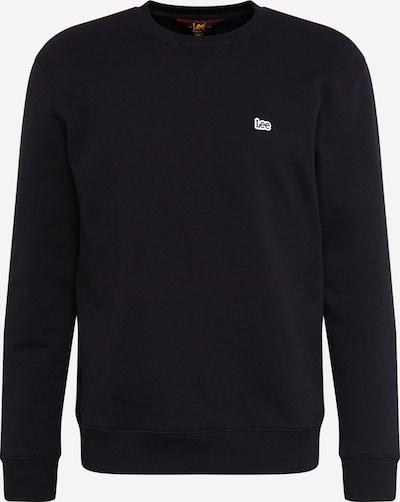 Lee Sweatshirt 'PLAIN CREW SWS' in de kleur Zwart, Productweergave