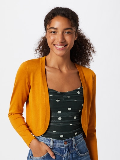Kaffe Bolero 'Astrid' in saffron / dark yellow / dark orange, View model