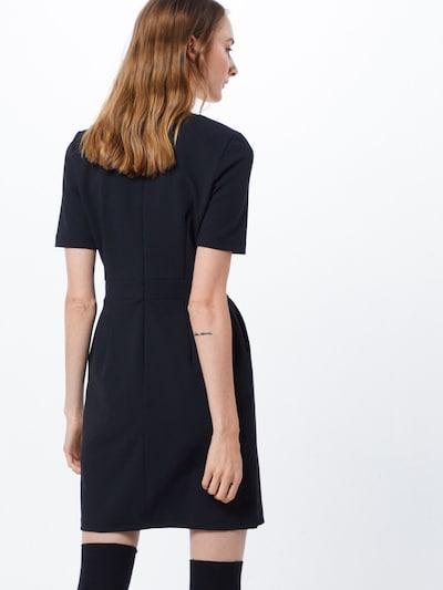 VERO MODA Robe 'VMCORINE S/S SHORT DRESS' en noir: Vue de dos