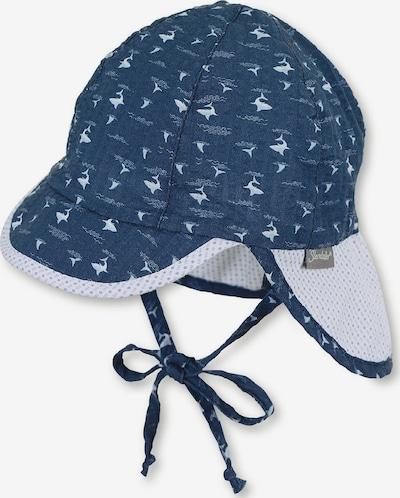 STERNTALER Hoed in de kleur Navy / Lichtblauw / Wit, Productweergave