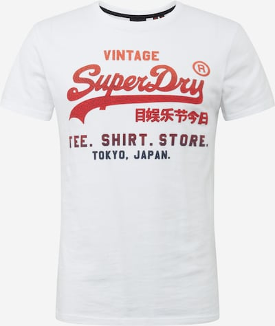 Superdry Tričko - červená / černá / bílá, Produkt