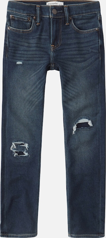 Abercrombie & Fitch Jeans in blue denim: Frontalansicht