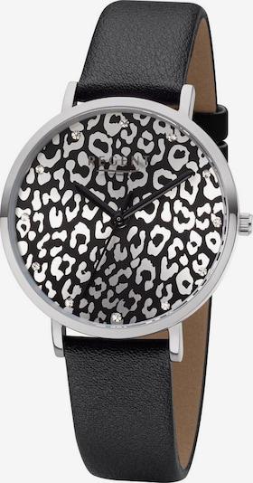 REGENT Uhr 'BA-656 3225.78.21' in schwarz / silber, Produktansicht