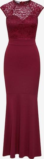 Vakarinė suknelė iš WAL G. , spalva - vyno raudona spalva: Vaizdas iš priekio