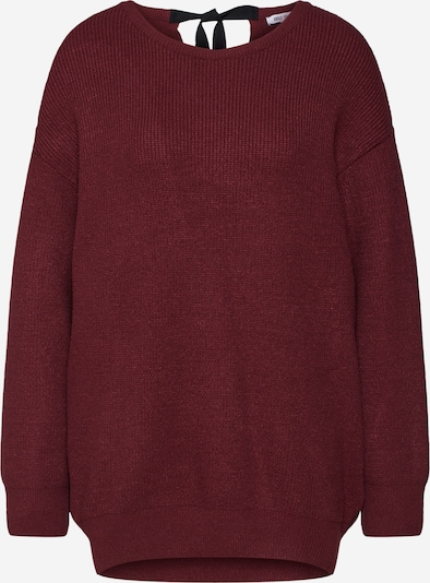ABOUT YOU Pullover 'Maren' in bordeaux: Frontalansicht