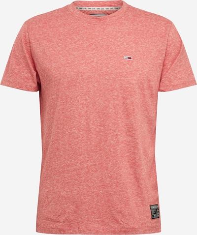 Tricou Tommy Jeans pe roșu amestecat, Vizualizare produs